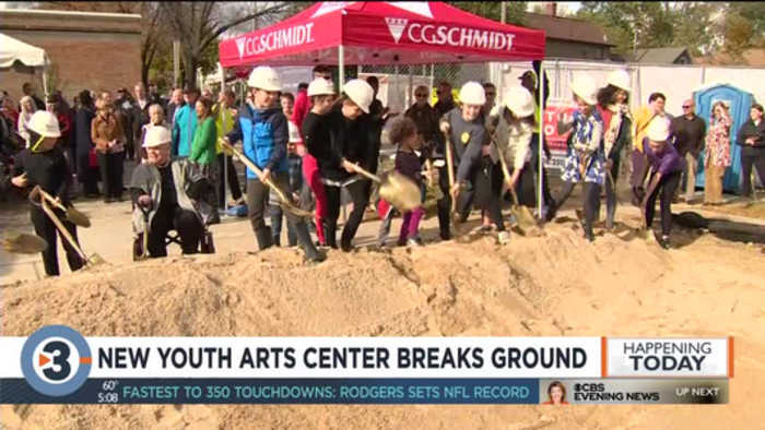 New Youth Arts Center breaks ground