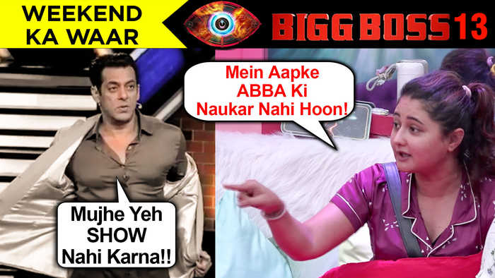 Salman Khan LEAVES Bigg Boss 13 Show | Gets ANGRY On Rashami And Devoleena | Episode UPDATE