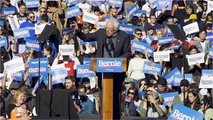 Bernie Falls To Forth In Iowa