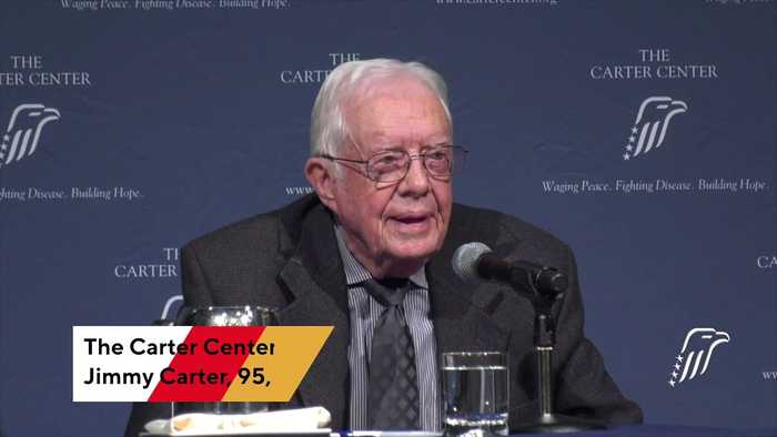 Jimmy Carter Hospitalized After Fall