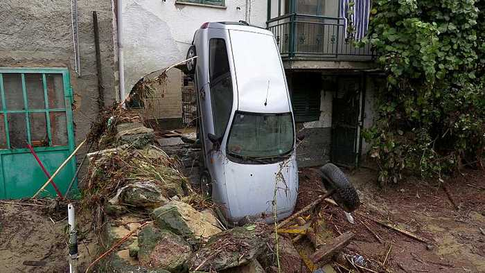 Flash floods bring havoc and destruction to northern Italy
