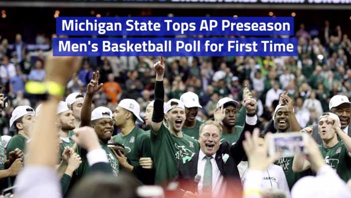 Michigan State On The Men's Basketball Poll