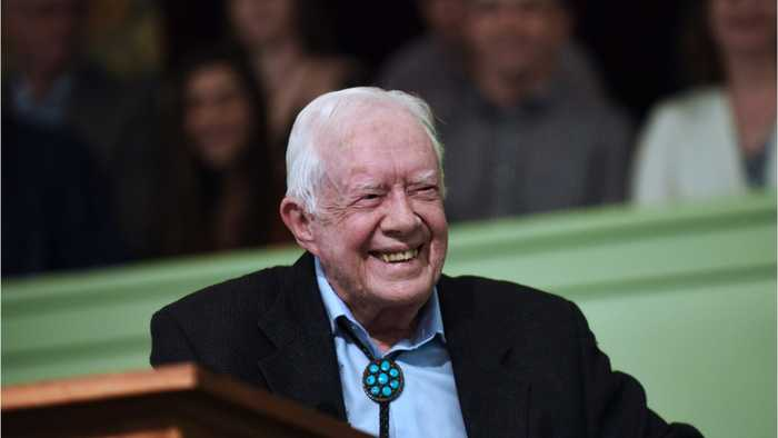 Former President Jimmy Carter Hospitalized After Fall