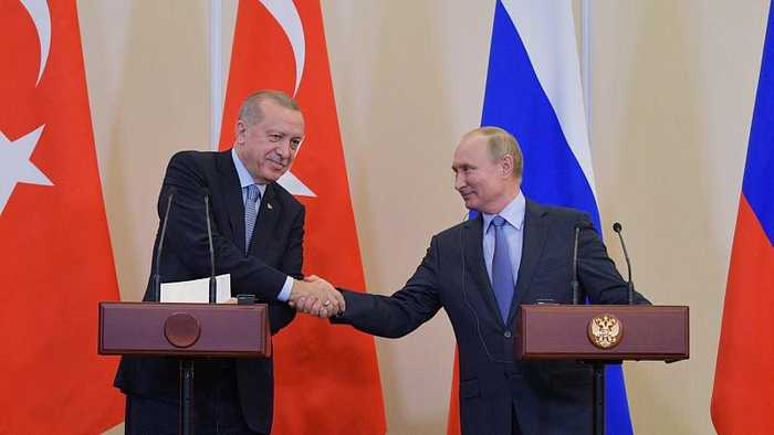 Kurds will be removed from Turkish 'safe zone' in Syria after Russia-brokered deal