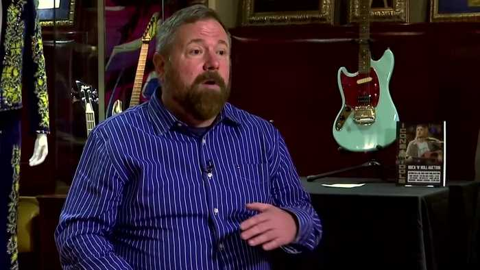 'Holy grail' of Kurt Cobain's clothing headlines rock music auction