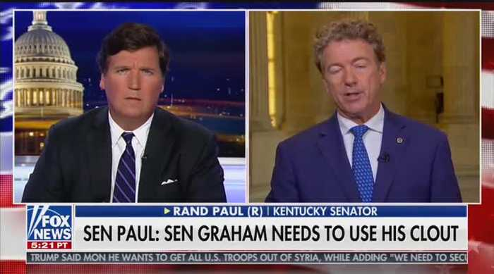 Tucker Carlson on Lindsey Graham's 'total inactio'
