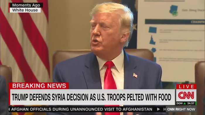 Trump defends Syria withdrawal decision