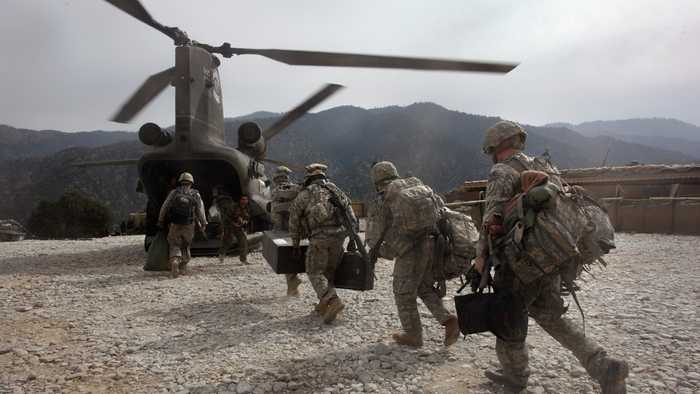 Pentagon Makes Precautionary Plans For Afghanistan Troop Withdrawal
