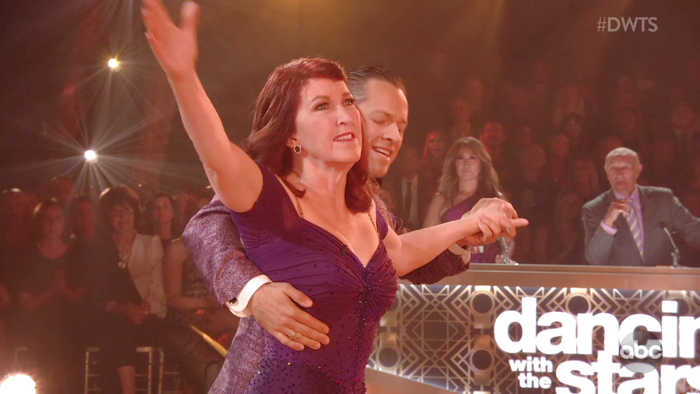 Kate Flannery's 'Victorious' Viennese Waltz