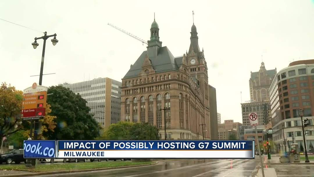 Mayor Barrett proposes a G7 Summit in Milwaukee in 2020