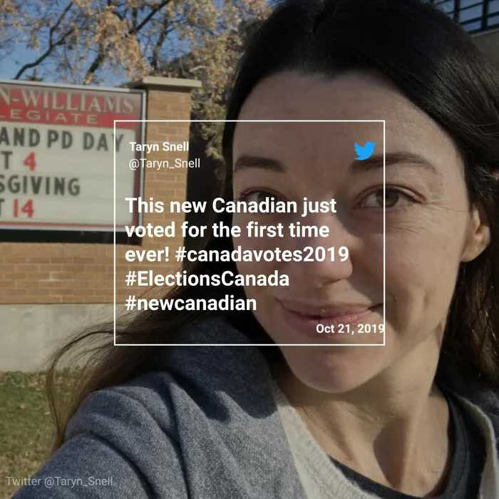 New Canadians Cast Their Votes