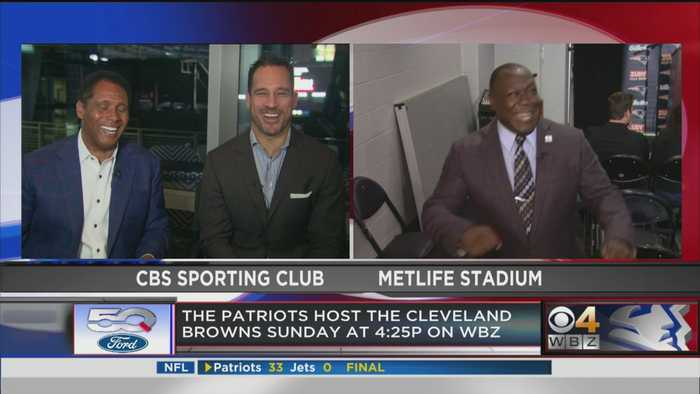 Levan Reid Reacts To Pats' Win Over Jets ... And Then Dances