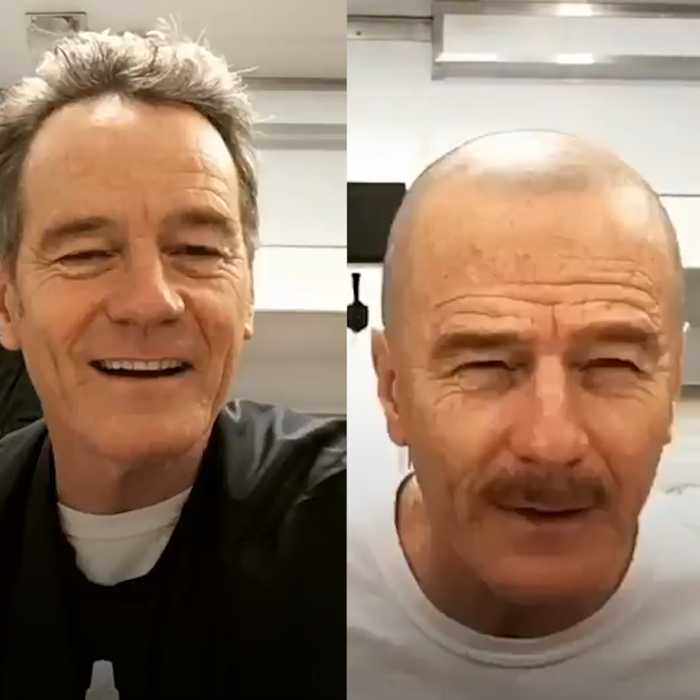 Watch Bryan Cranston transform into Walter White in less than a minute