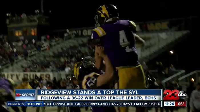 Ridgeview makes history in SYL behind rushing game