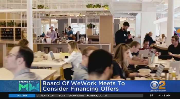 WeWork Board To Meet On Emergency Financing