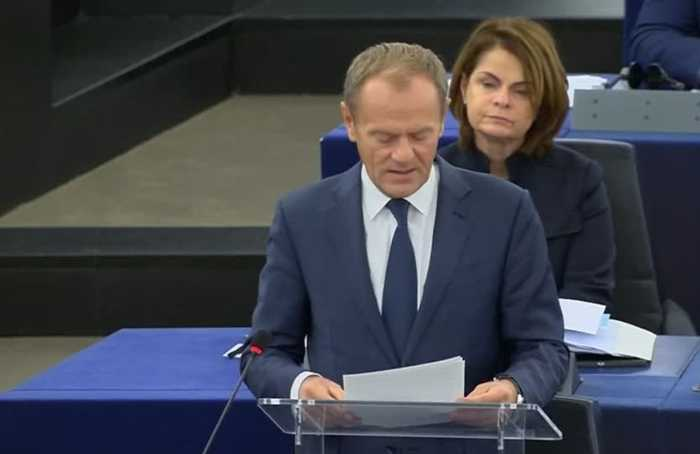 EU's Tusk 'to decide on Brexit extension in coming days'