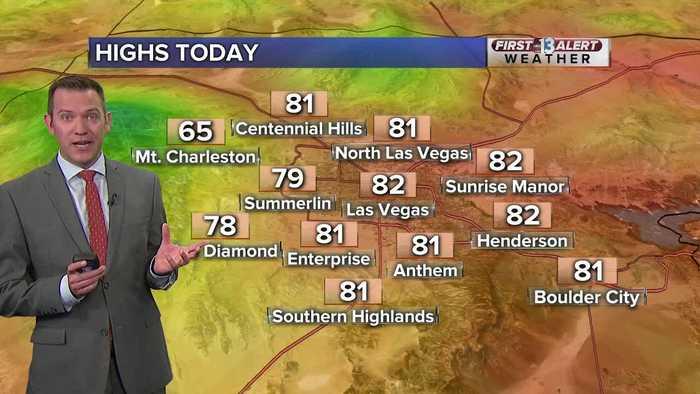 13 First Alert Las Vegas morning forecast | Oct. 22, 2019