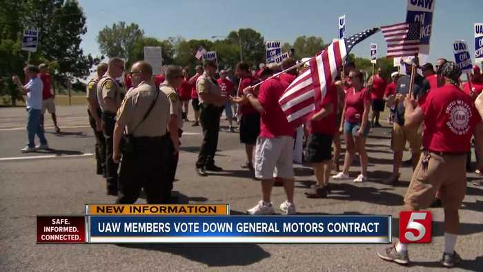 Spring Hill UAW members narrowly reject deal to end GM strike