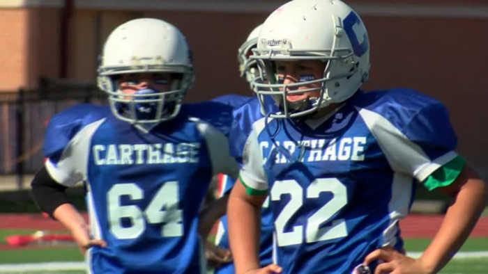 Carthage wins youth league super bowl