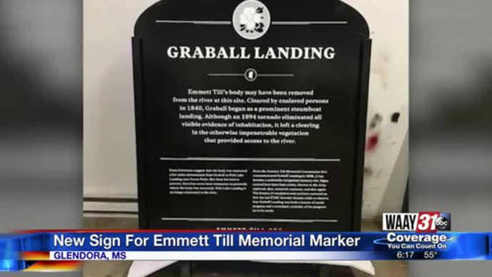Emmett Till Bullet proof Memorial