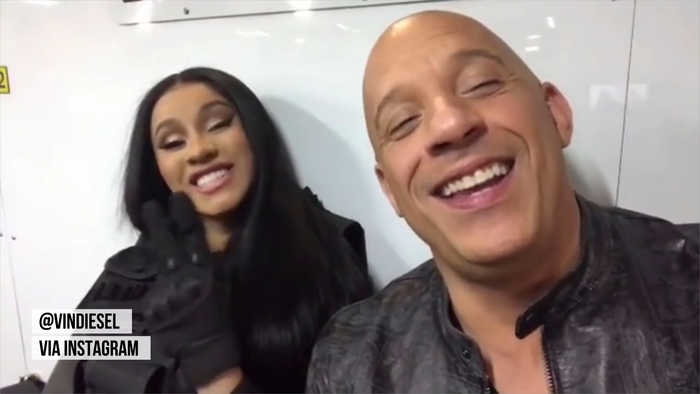 Cardi B joins 'Fast & Furious 9' cast