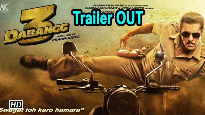 Dabangg 3 | Salman Khan returns as Chulbul Pandey | TRAILER OUT