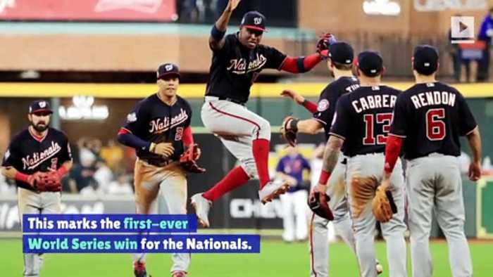 Washington Nationals Win Game One of World Series