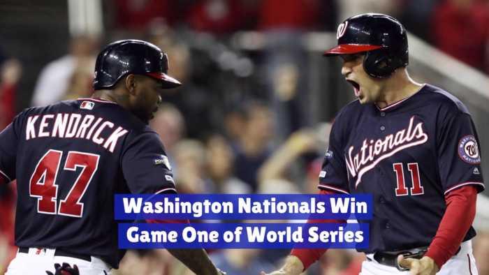 Washington Nationals Take Game 1