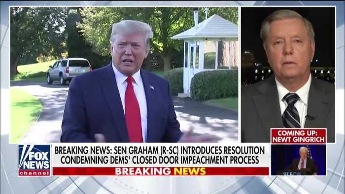 Lindsey Graham: Senate should dismiss a Trump impeachment trial