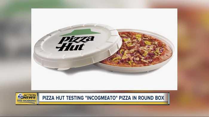 Pizza Hut testing 'incogmeato' pizza in round box