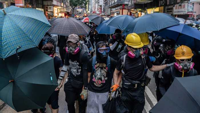 Hong Kong Legislature Formally Withdraws Bill That Sparked Protests
