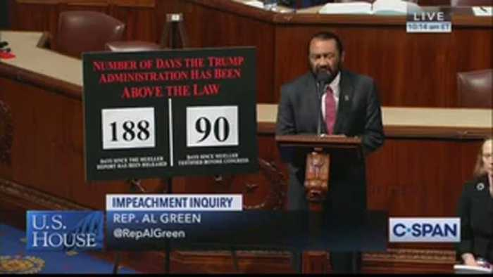 Dem Rep. Al Green: We Should Impeach Trump For Comparing Impeachment To Lynching