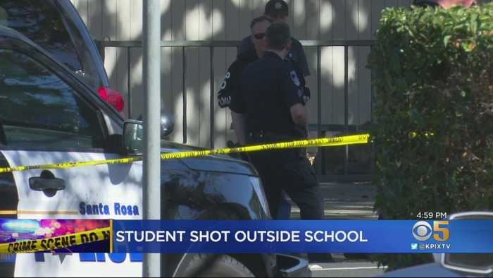 Santa Rosa Police Search For Weapon After Student Shoots Second Student Outside High School
