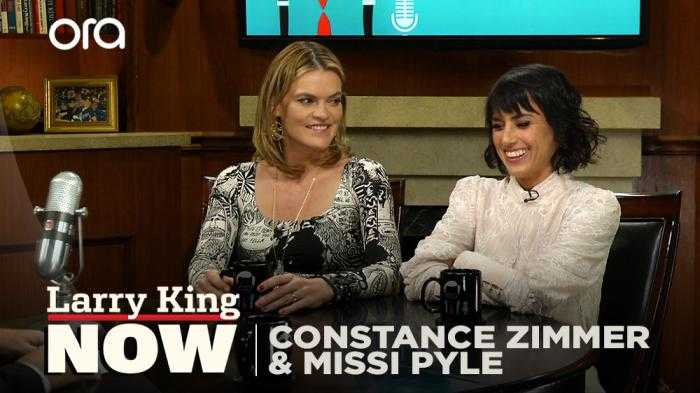 Actresses Constance Zimmer and Missy Pyle on how social media has affected parenting