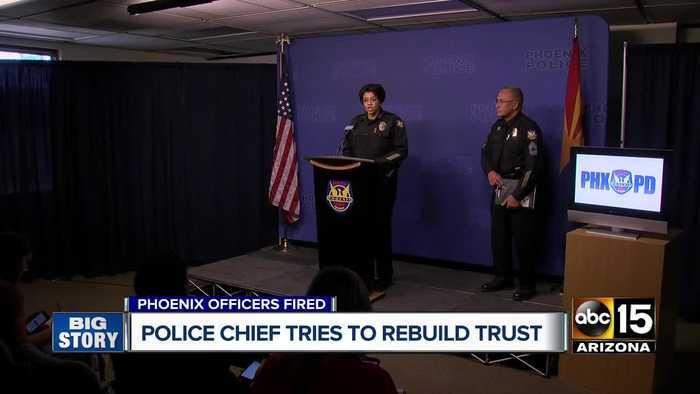 Phoenix police chief Jeri Williams tries to rebuild trust