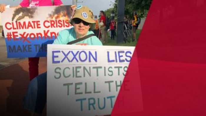 Exxon Mobil accused of lying to investors about cost of climate change