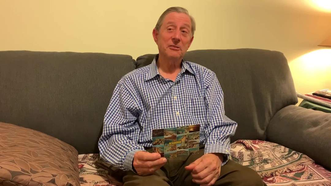 Man receives postcard 28 years after he sent it to his parents