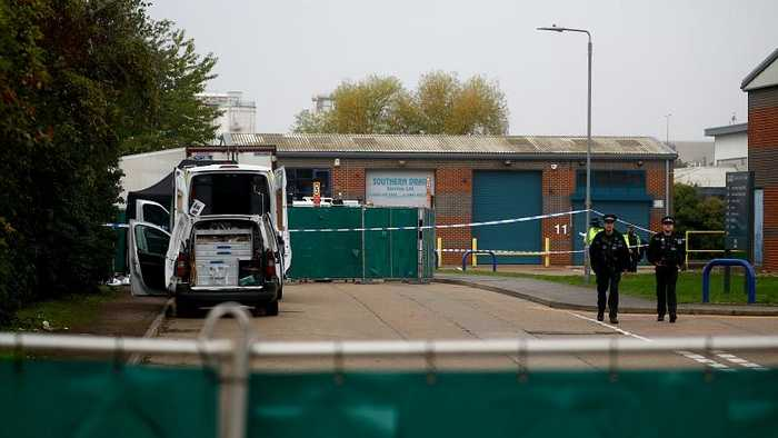 Thirty-nine dead bodies found in back of lorry in Essex, UK - Police say vehicle came from Bulgaria