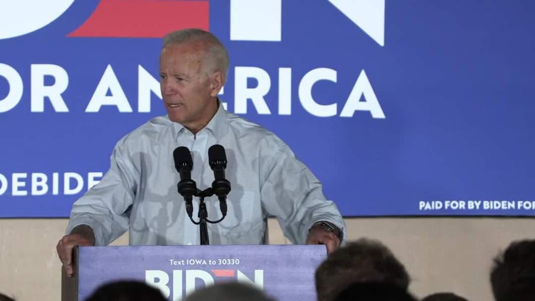 Biden Leads In National Poll