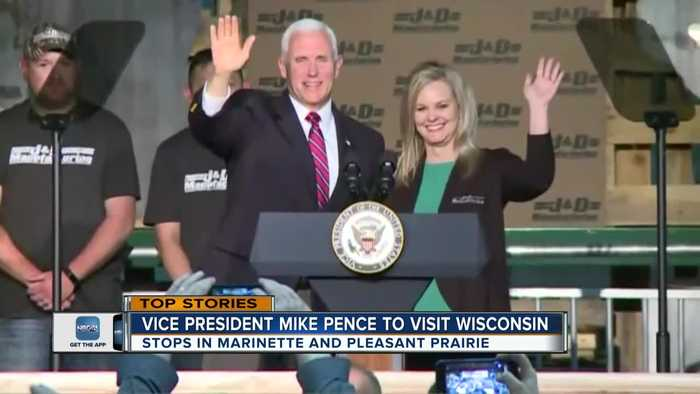 Vice President Mike Pence to make two stops in Wisconsin
