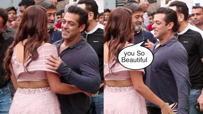 Salman Khan DABANGG ENTRY With Saiee Manjrekar At Dabangg 3 Trailer Launch | Biscoot Tv