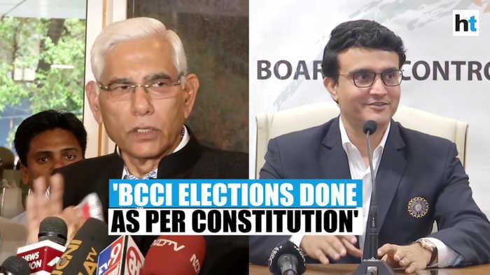 BCCI elections done as per constitution: CoA Vinod Rai