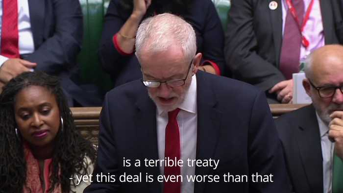 Jeremy Corbyn accuses PM of throwing Northern Ireland 'under a bus' in Brexit bid