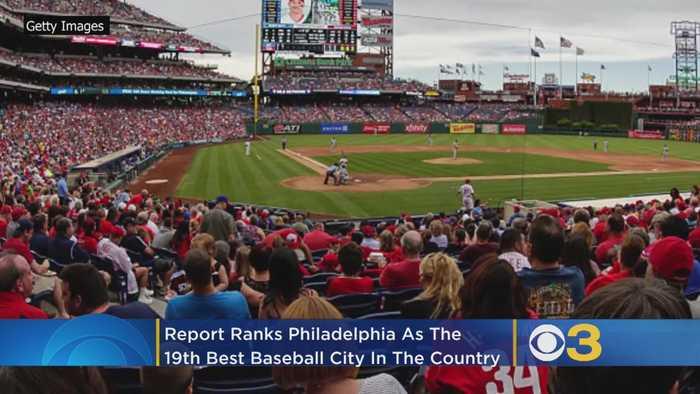 Report: Philadelphia Among Top 20 Baseball Cities In US