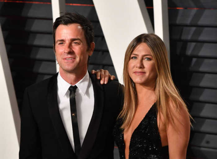 Jennifer Aniston insisted Justin Theroux follow her on Instagram