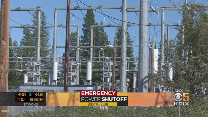 PG&E Announces Afternoon Start For Latest Public Safety Power Outage