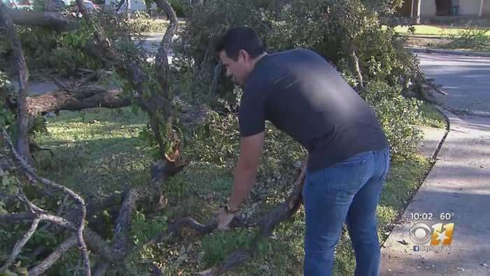 Local Businesses, Residents Offer Helping Hand To Those Affected By North Texas Tornadoes