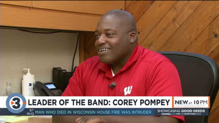 How Corey Pompey became UW-Madison's new band director
