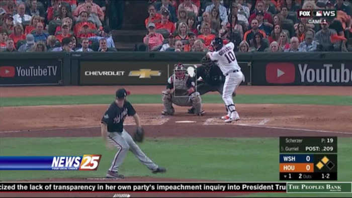 Astros lose first game of World Series,