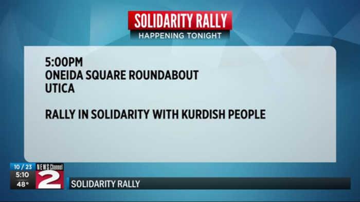 Kurd Rally in Utica